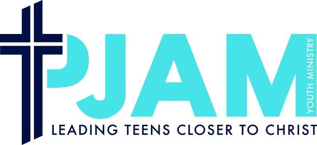 Pjam Final logo - Blue with Tagline